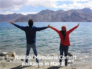 Nainital mussoorie corbett packages in march